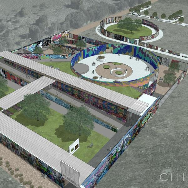 Rendering of the new HOPE Outdoor Gallery at Carson Creek Ranch (Courtesy_Chioco Design LLC)_584895