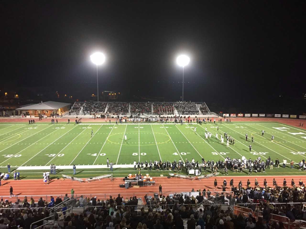 Lake Travis vs. Vandegrift football (KXAN Photo)_579382