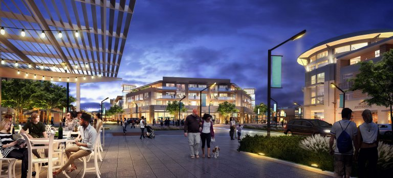 Developers of The District plan Class A office space, dense residential and some retail and restaurant spaces. (Mark IV Capital Rendering)