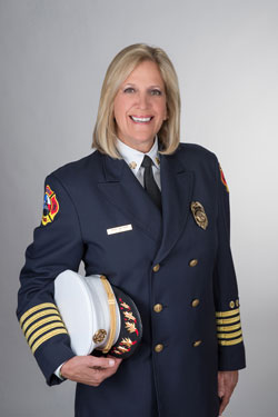 Chief Rhoda Mae Kerr (Austin Fire Department Photo)