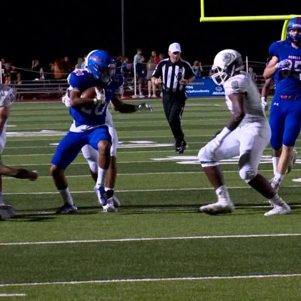 Vandegrift vs. Hays high school football_575045