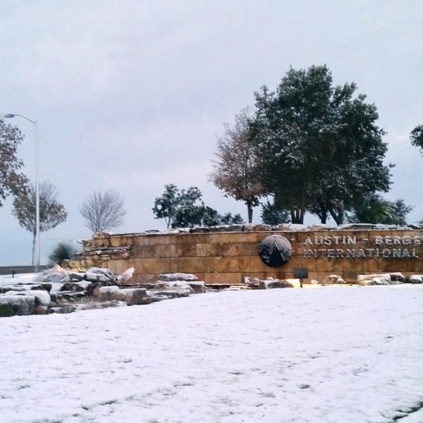 Austin-Bergstrom International Airport snow_594724