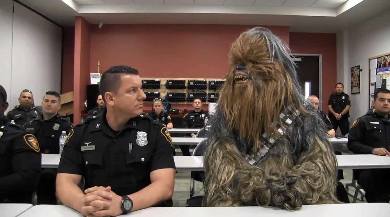 chewbacca fort worth police_590320