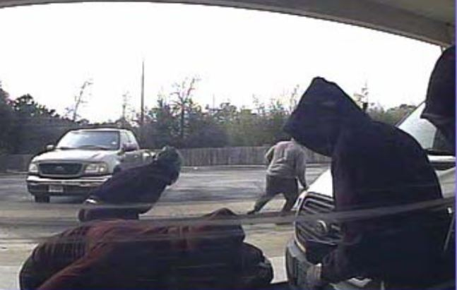 Four suspects assault and rob an ATM technician at Austin Telco Federal Credit Union at 511 N. Bell Blvd. on Dec. 14, 2017_598292