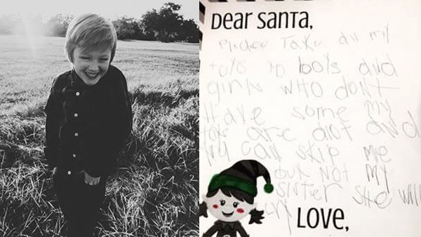 Boy's letter to Santa_595495