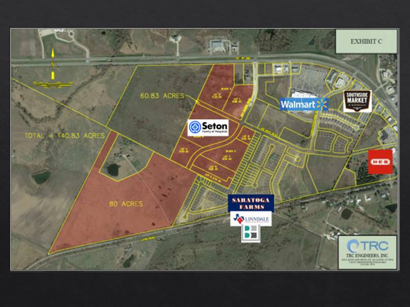 Location of Seton medical center that will be built in Elgin. (Courtesy: Seton Hospitals)
