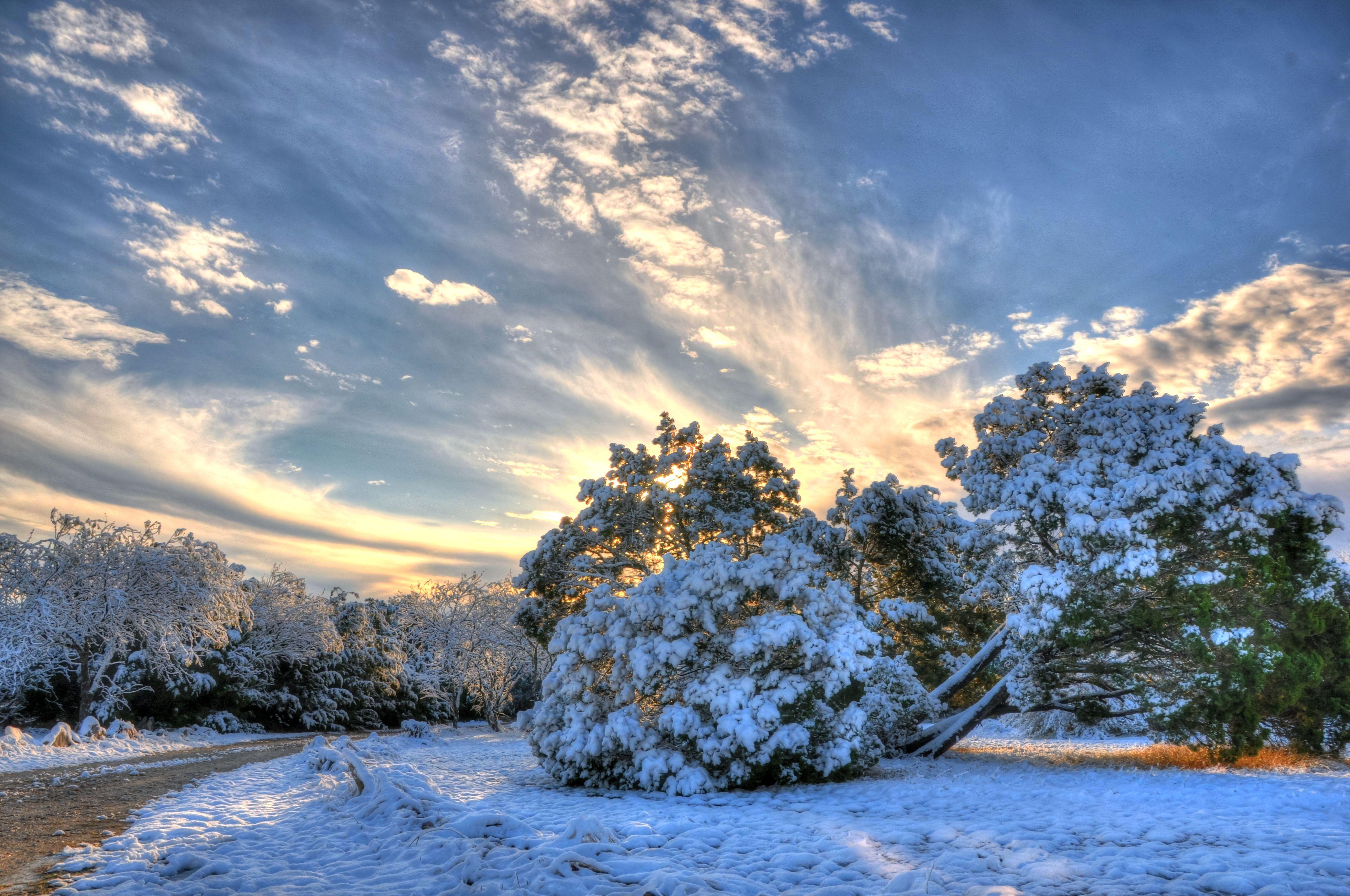 Sunrise in New Braunfels. (Report It: T Schuppe)