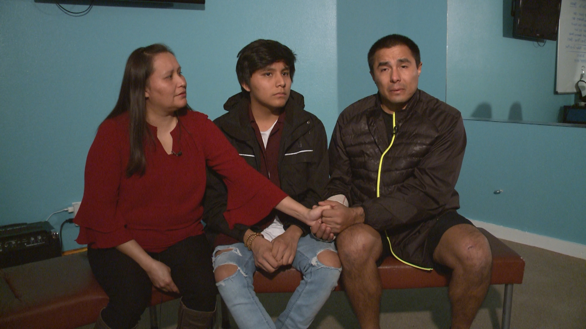 The Henderson family recounts their harrowing experience in a road rage shooting_592863