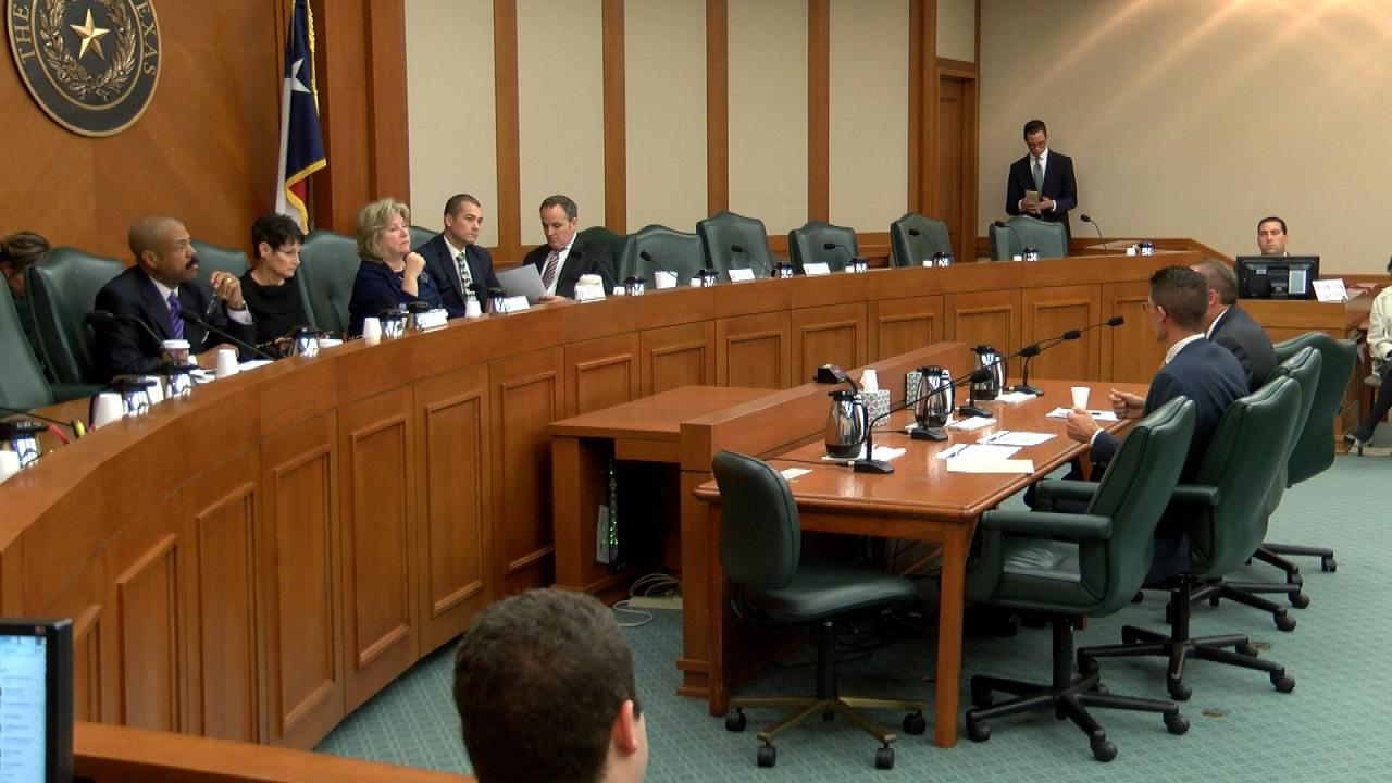 Senate Select Committee on Cybersecurity meeting on Dec. 6, 2017. (Nexstar Photo/Wes Rapaport)