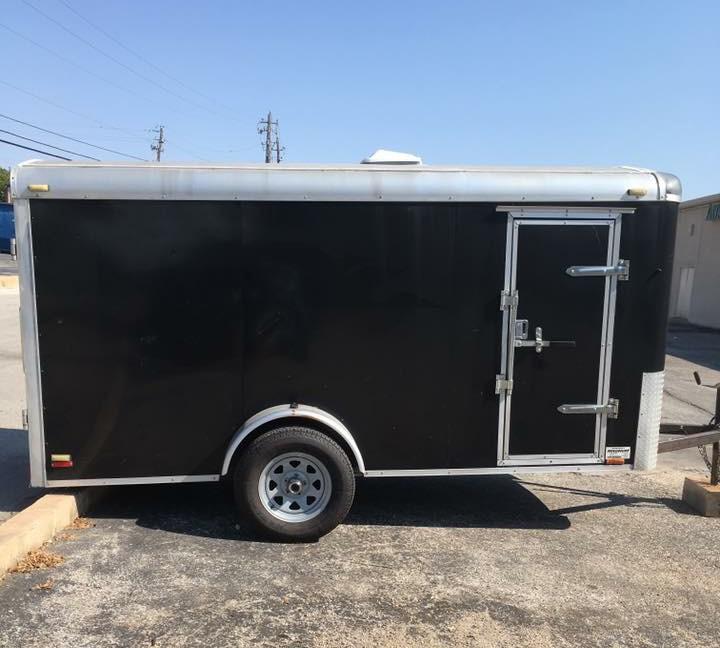 Black trailer stolen from SAFE Refuge of Central Texas. (via SAFE Refuge of Central Texas)