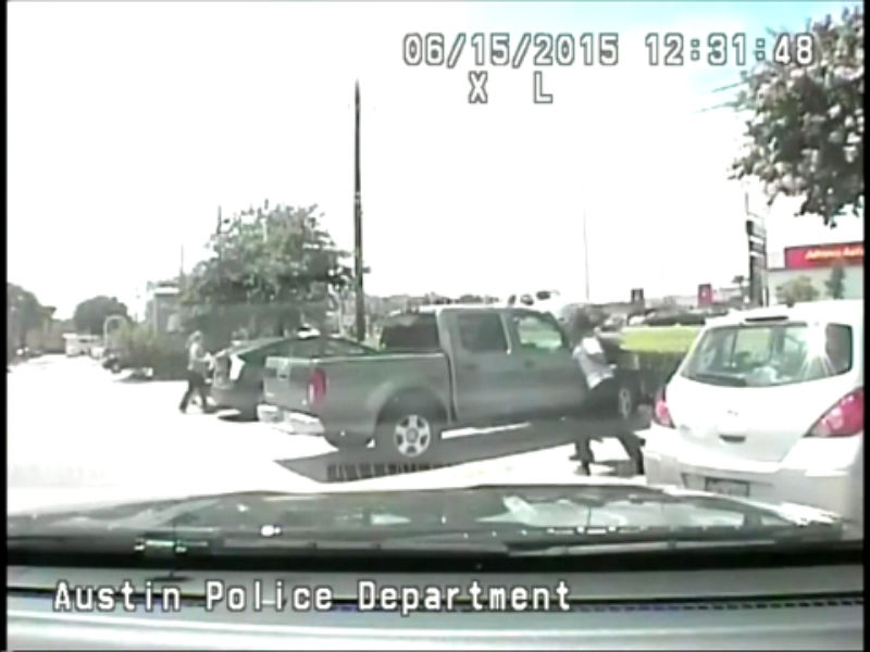 RAW: Dash cam arrest video of Breaion King