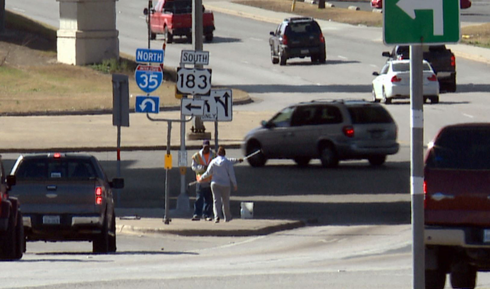 Southbound I-35 frontage to US 183 frontage. (KXAN Photo)