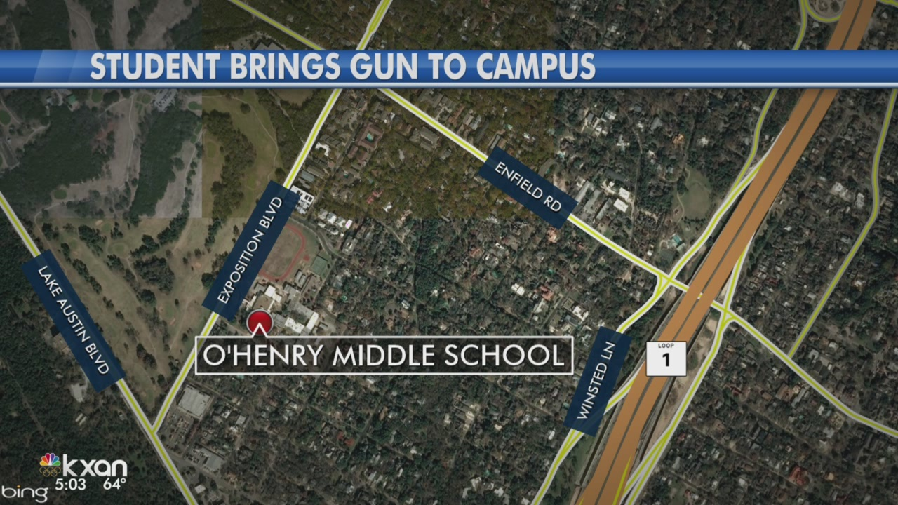 Tip leads to student with gun at west Austin middle school