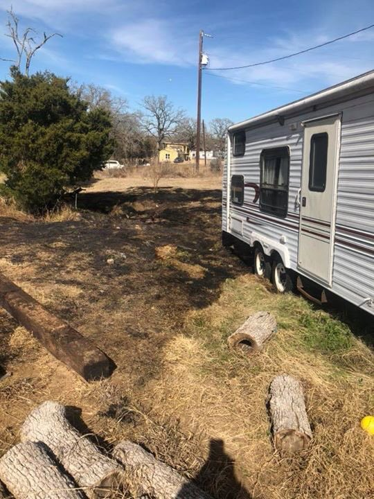 Control burn on Luke Lane escapes and comes close to damaging structures on Jan. 23, 2018. (Courtesy: Bastrop County ESD 2)