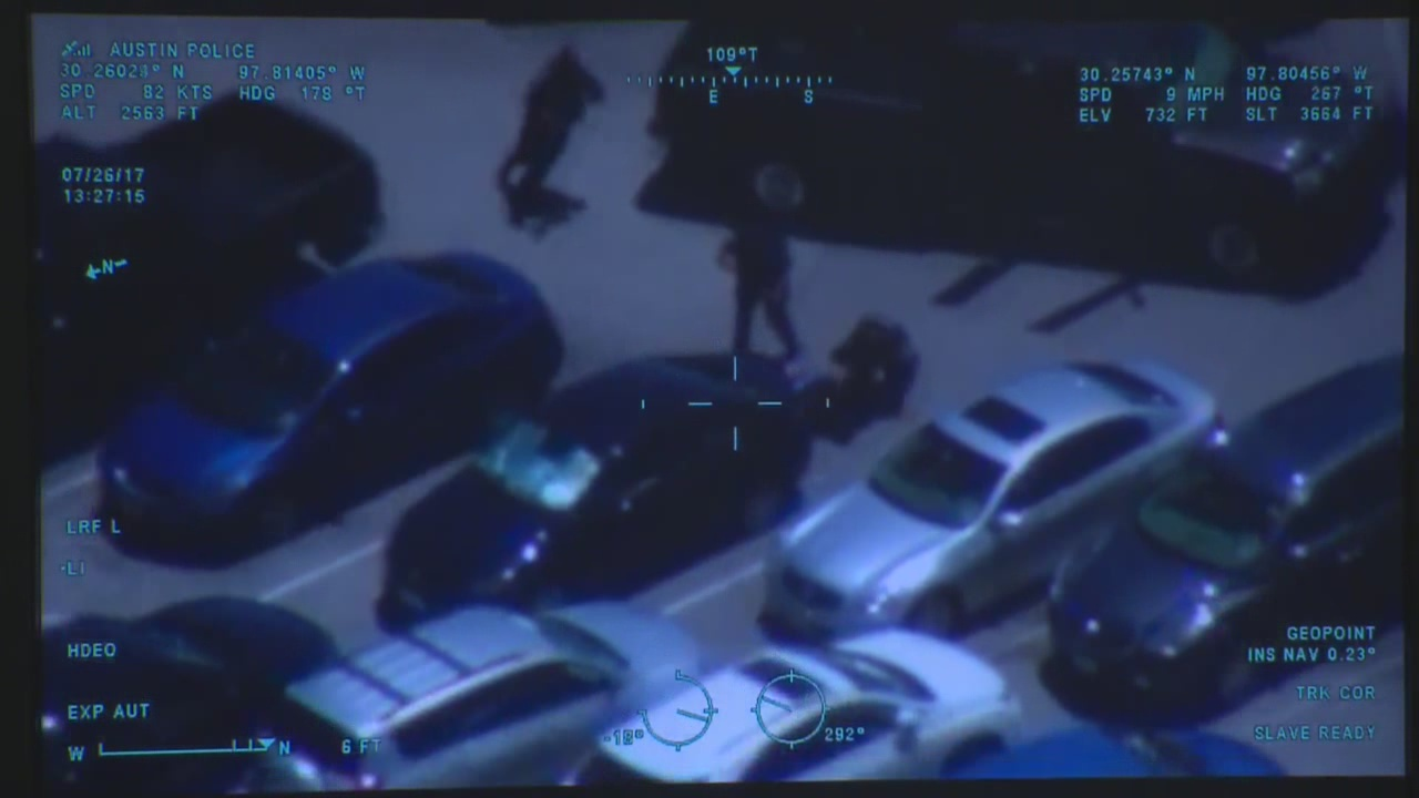Austin police helicopter video showed Police Officer Brian Richter and Detective Steven McCurley during a use of force incident on July 26, 201_620317