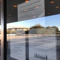 lbj library shutdown_620026