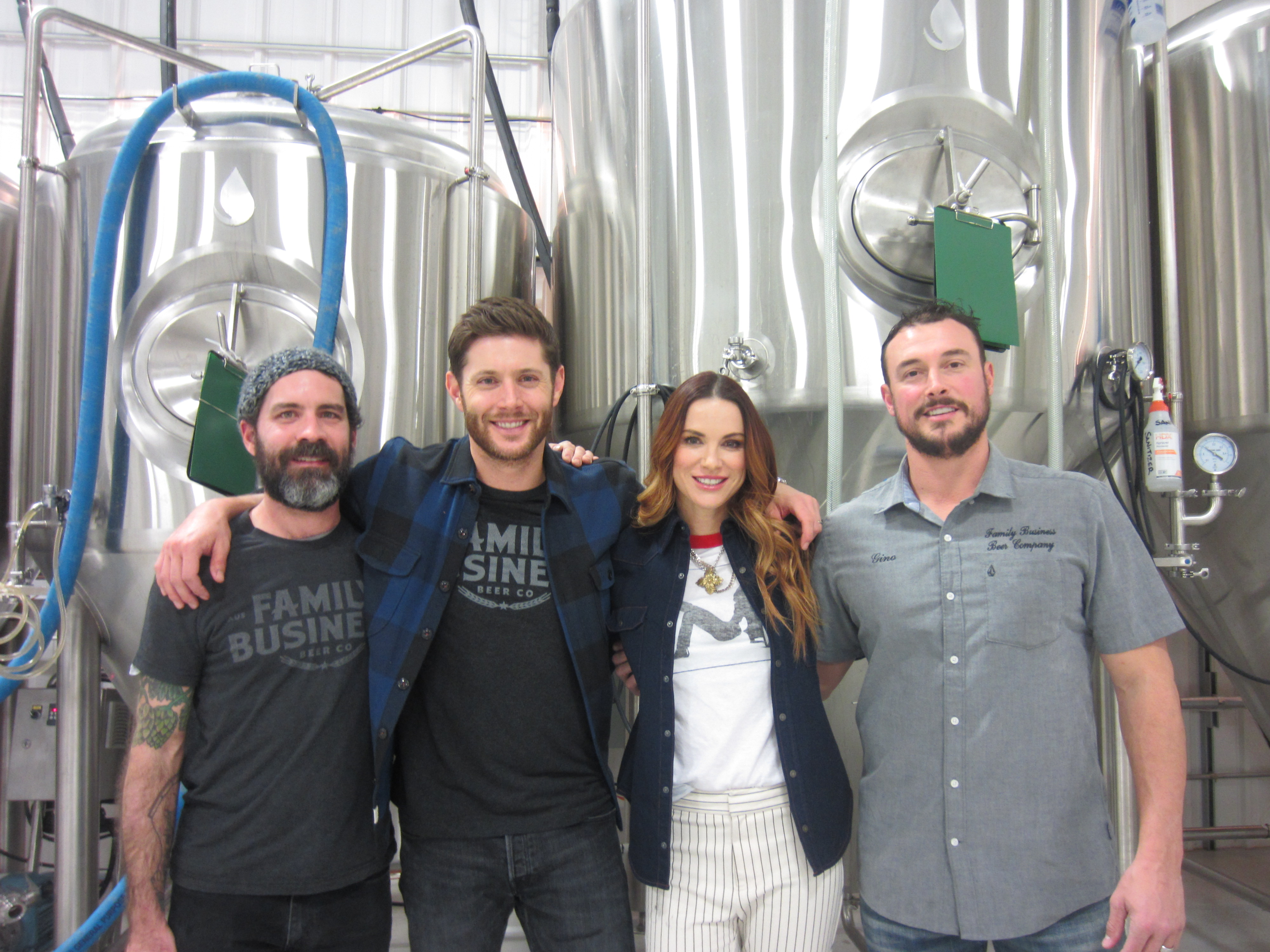 Supernatural' star Jensen Ackles opens brewery on the