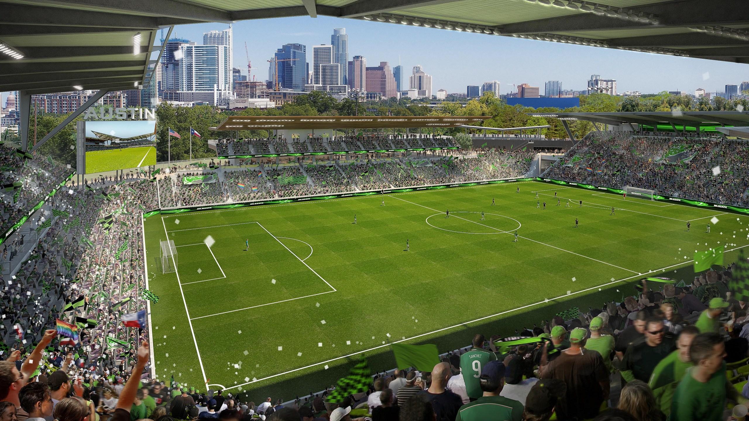 Austin MLS Soccer stadium_593825