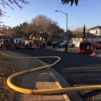 Attic fire on Sprucewood Drive_623794