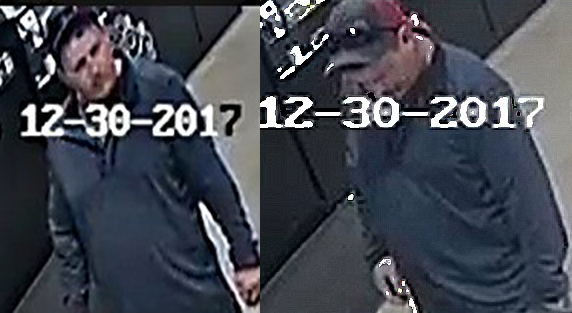Surveillance cameras caught Terry Miles inside a store in Trinidad, Colo. on Dec. 30, 2017. (RRPD)