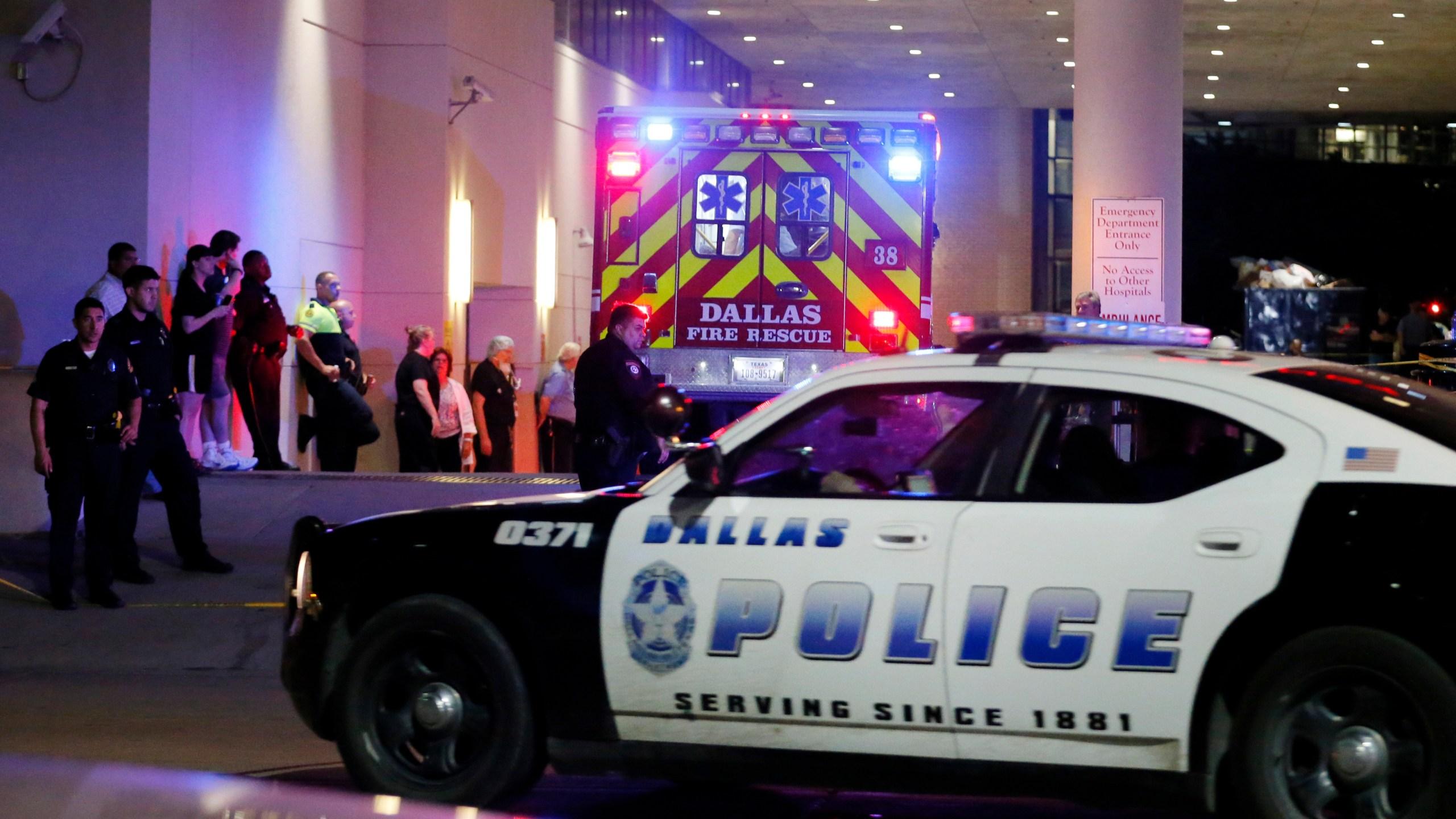 Police Shootings Protests Dallas_309397