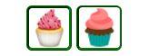 Cupcake emoji (From Unicode)