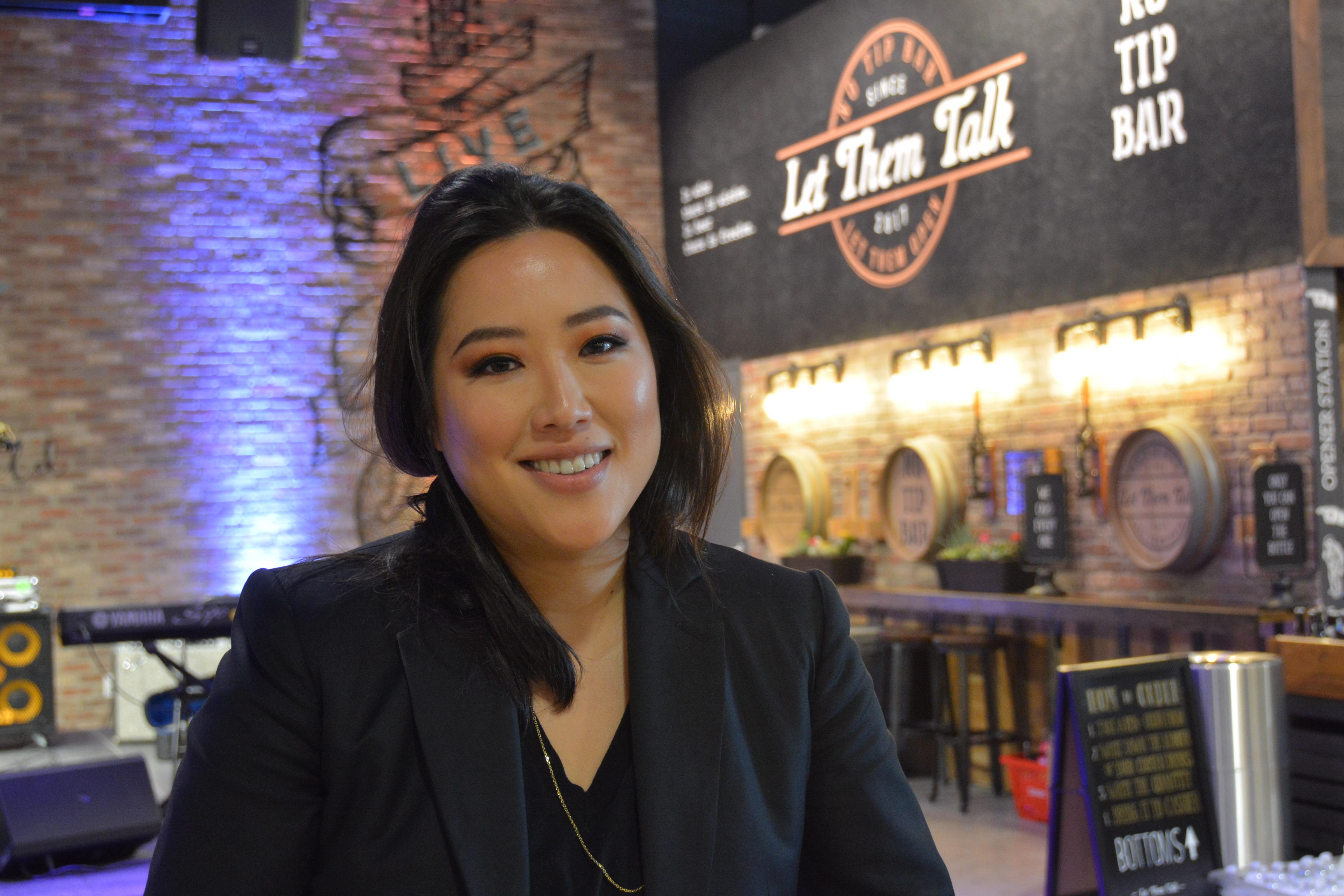 Stacey Kwon, creator of Hmart's Market Eatery (KXAN Photo)
