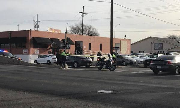 Scene of an officer-involved shooting at Faith City Mission in Amarillo, Texas_638001