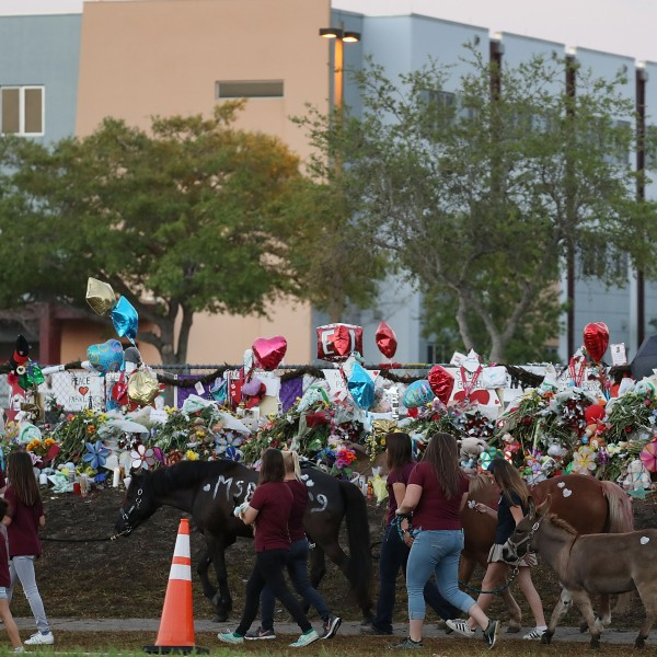 Students Return To Class For First Time After Mass Shooting At Florida School_645860
