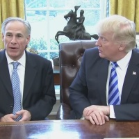 Gov. Greg Abbott meets with President Donald Trump_441883