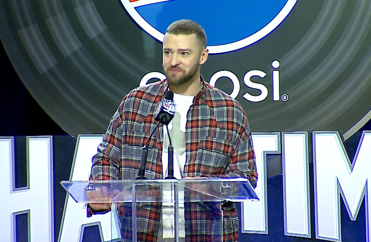 Justin Timberlake Generic Super Bowl LII_627761