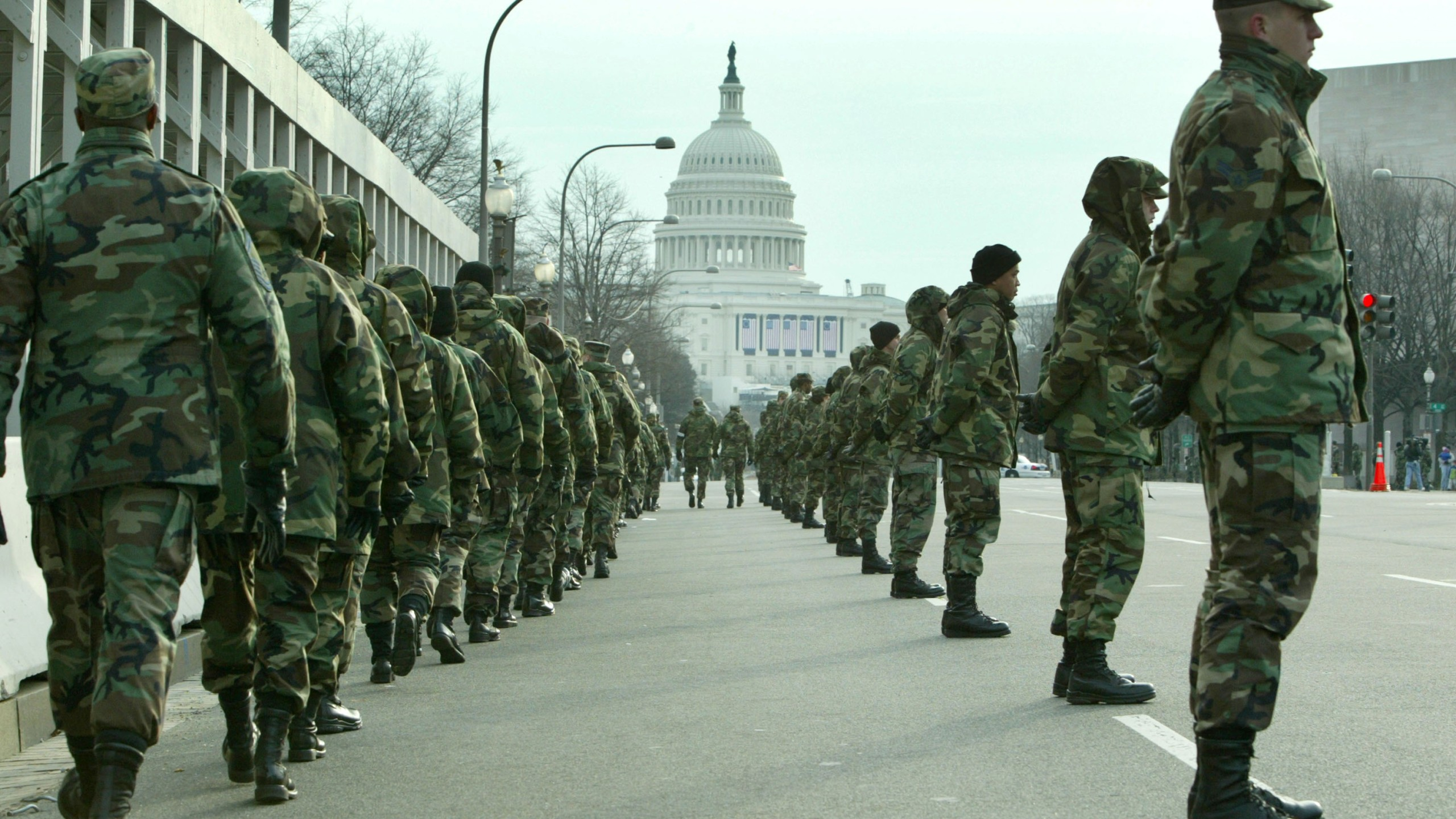 Washington Prepares For Bush's Second Inaugural_630366