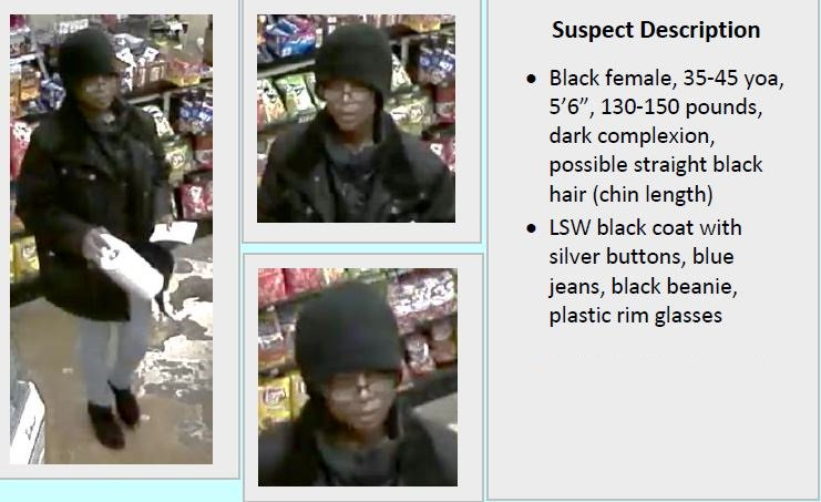 Surveillance photos of the suspect in the Subway robberies. (Austin Police Department)