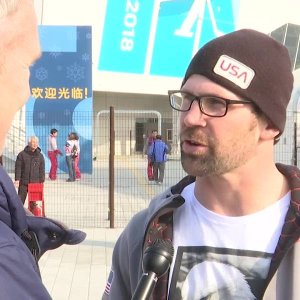 Team USA_s Nick Baumgartner may have just missed the podium in snowboard cross, but he says sharing the experience with his son changed everyth_640445
