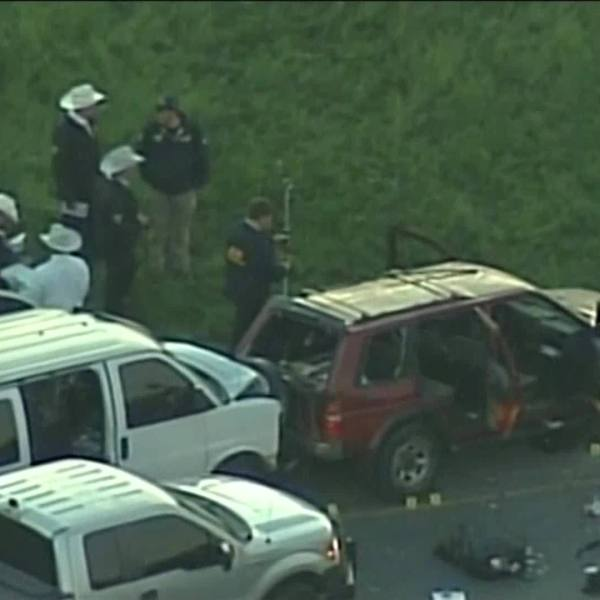 AERIALS: Aftermath scene in Round Rock where bombing suspect allegedly killed himself