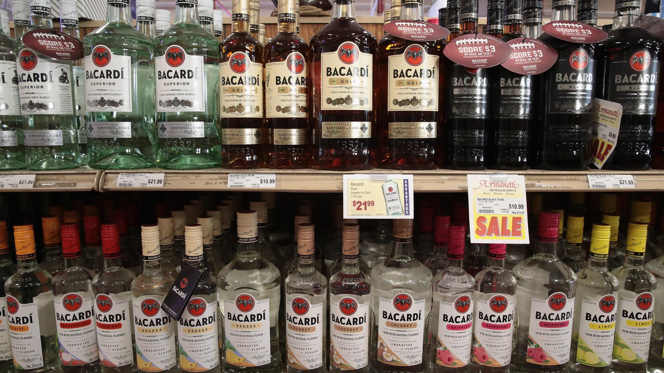 Liquor stores - liquor