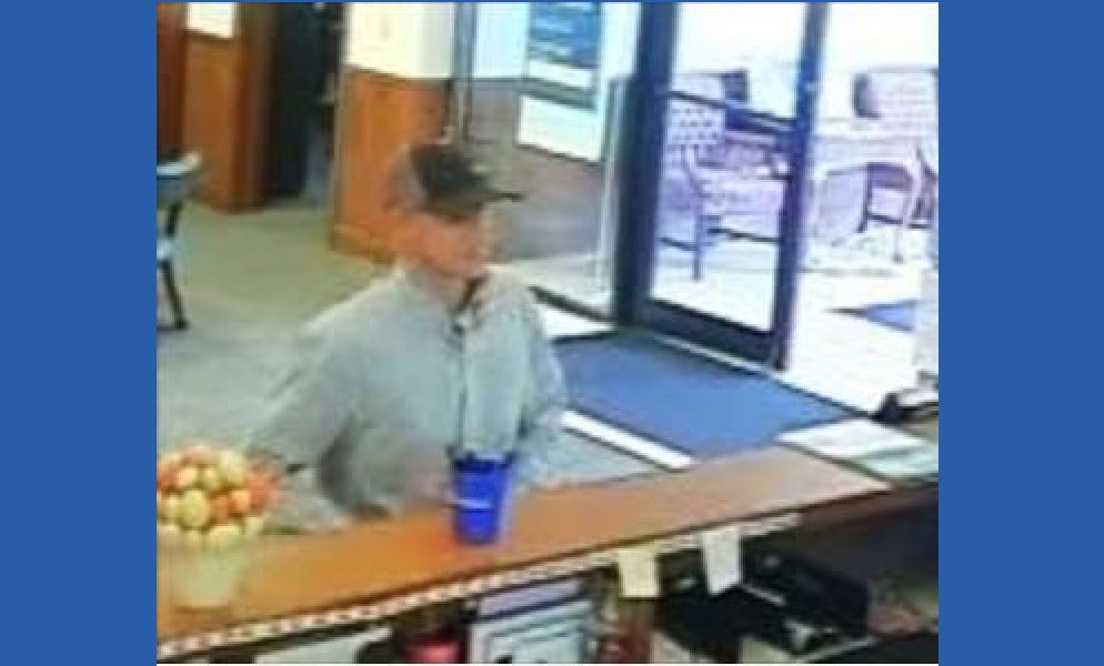 Suspect in robbery of the Compass bank in the Hill Country Galleria
