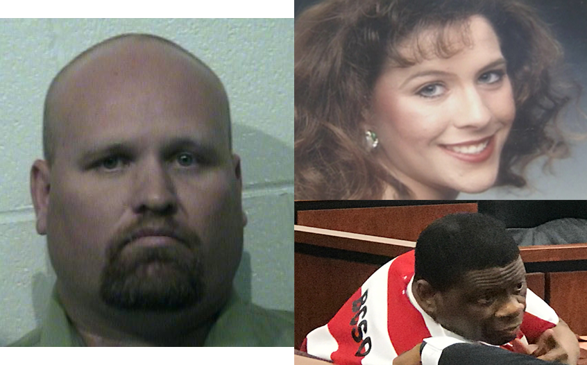 Clockwise from left: Jimmy Fennell, Stacey Stites, Rodney Reed.