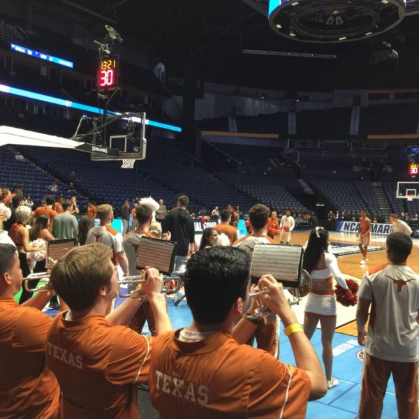 Texas NCAA practice