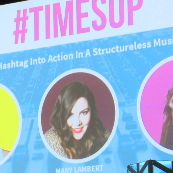 SXSW Time's up panel