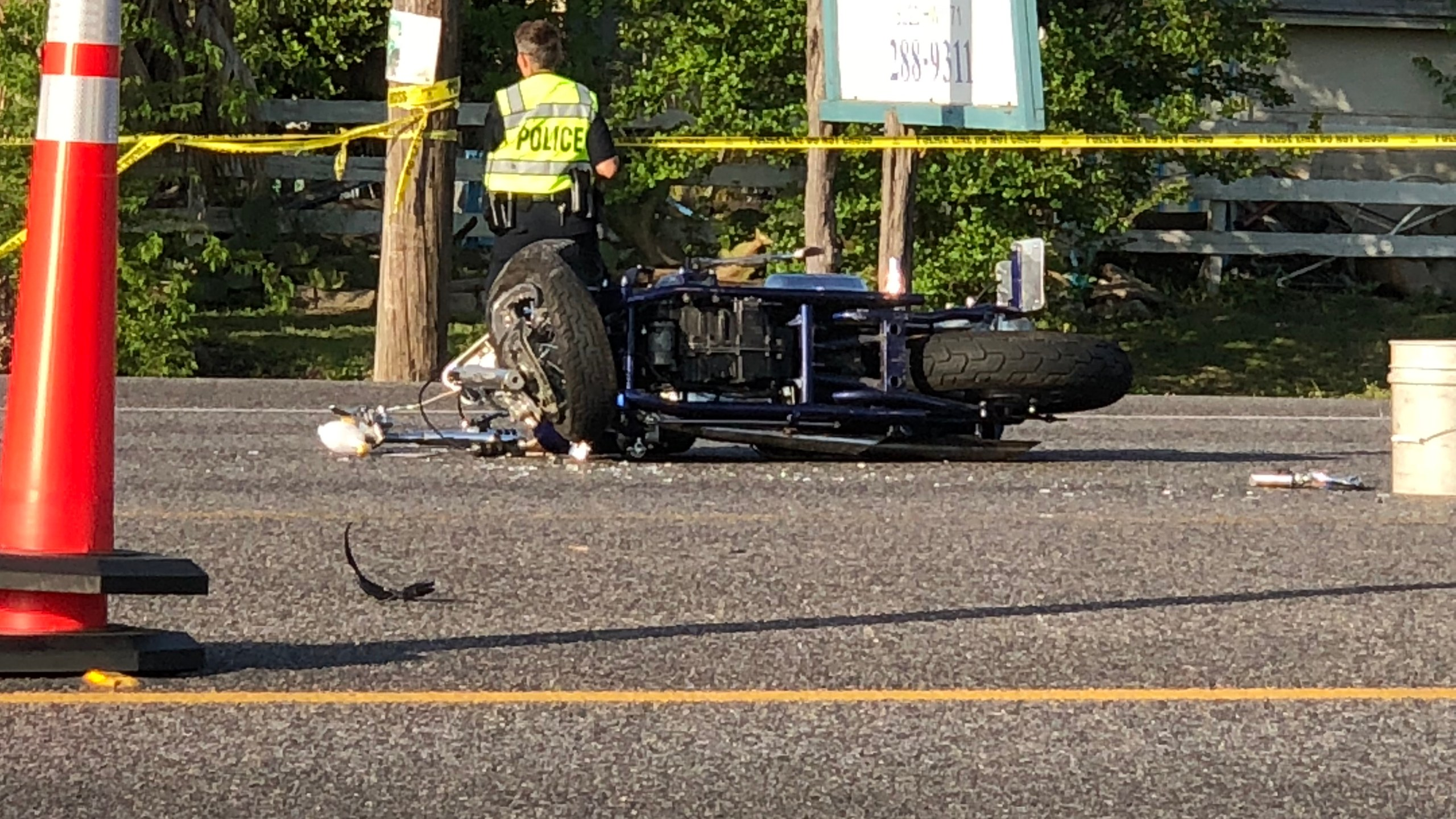 A motorcyclist was killed on SH 71 near Silvermine Drive in southwest Austin on April 12, 2018