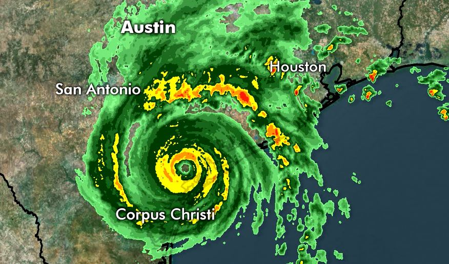 Hurricane Harvey moves on shore_534530