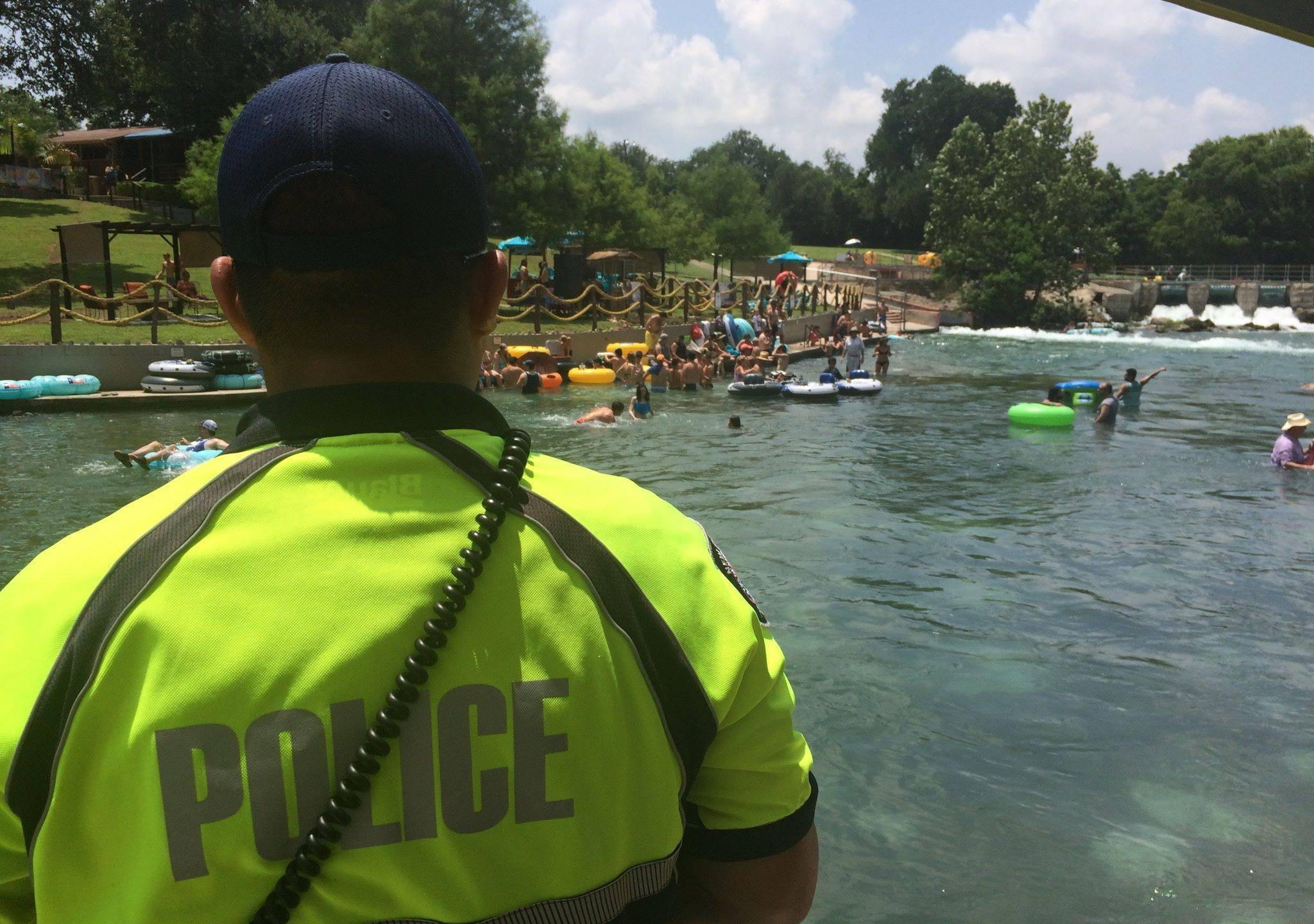 Comal River opens for recreation (New Braunfels police Facebook photo)_436008