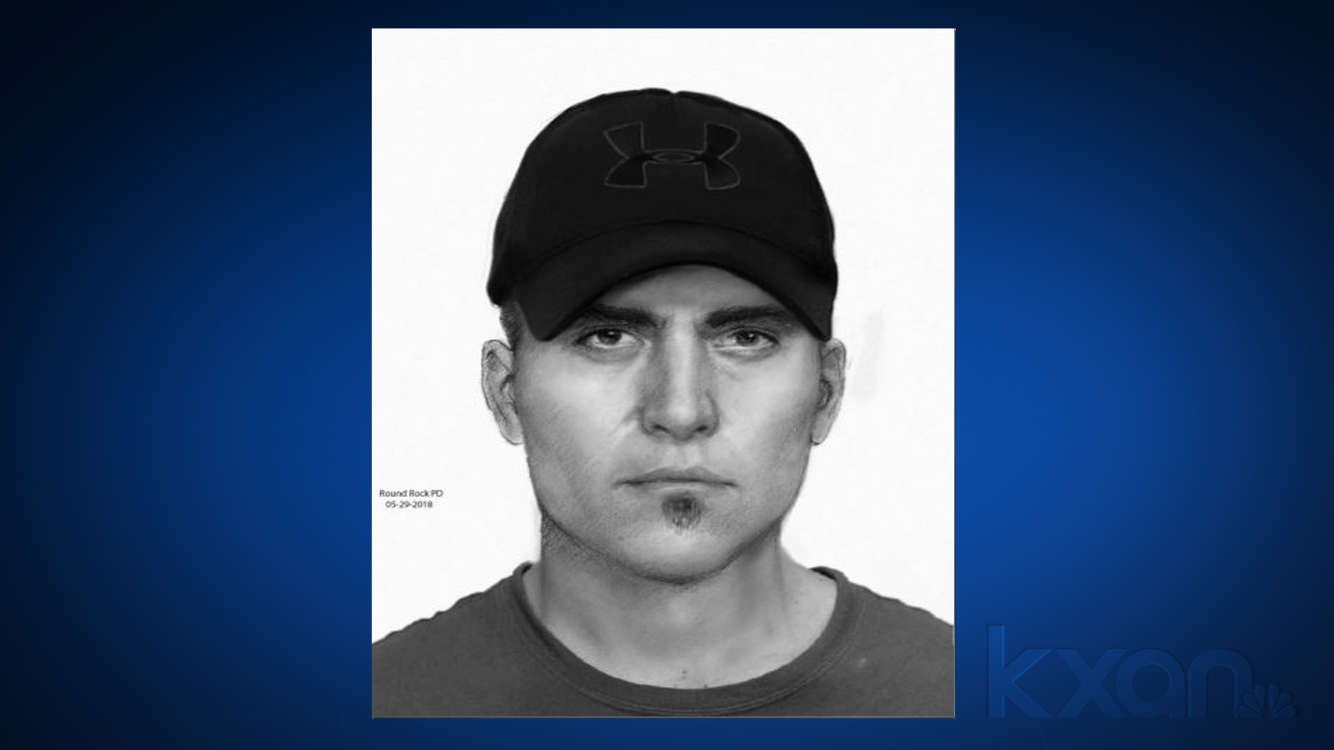 Sketch of Brushy Creek trail alleged attacker