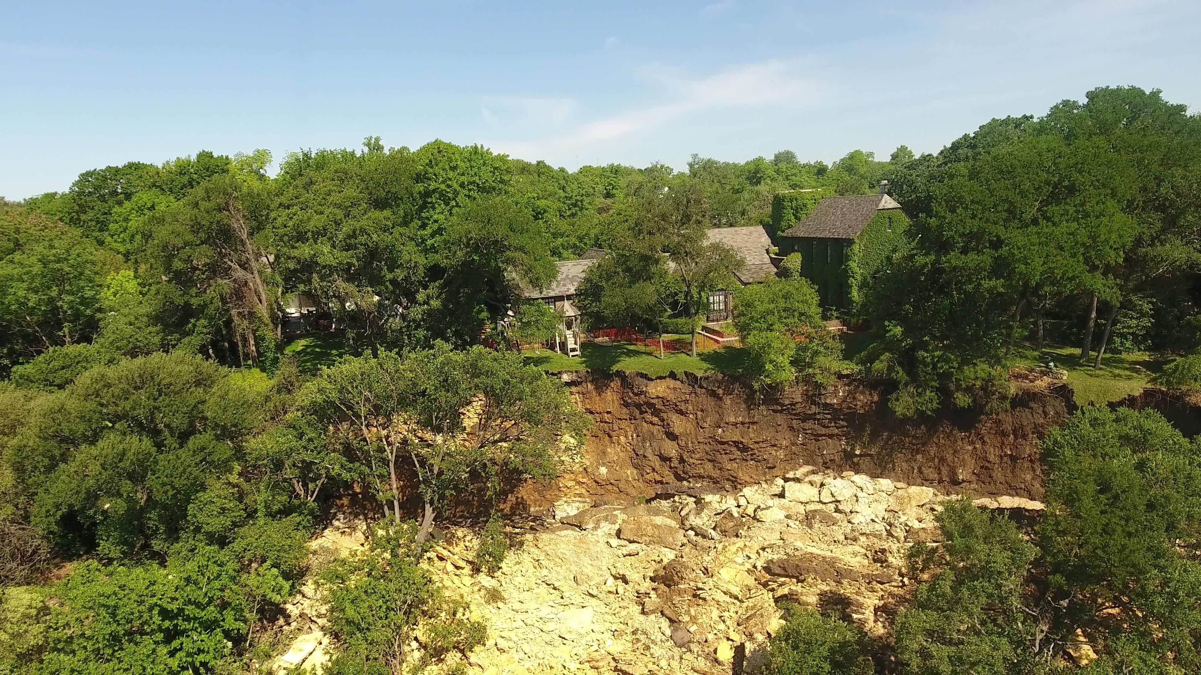 Group in charge of Shoal Creek landslide repairs asks for