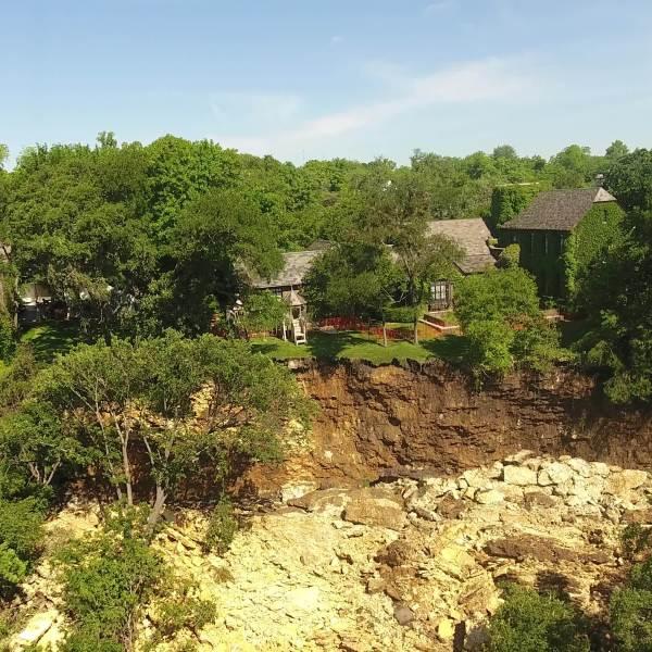 Shoal Creek landslide