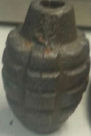 Austin replica grenade found_173310