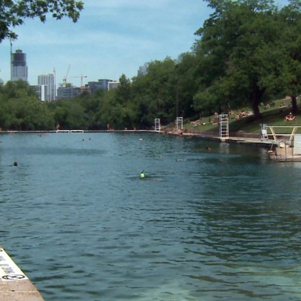 Barton Springs Pool on May 8