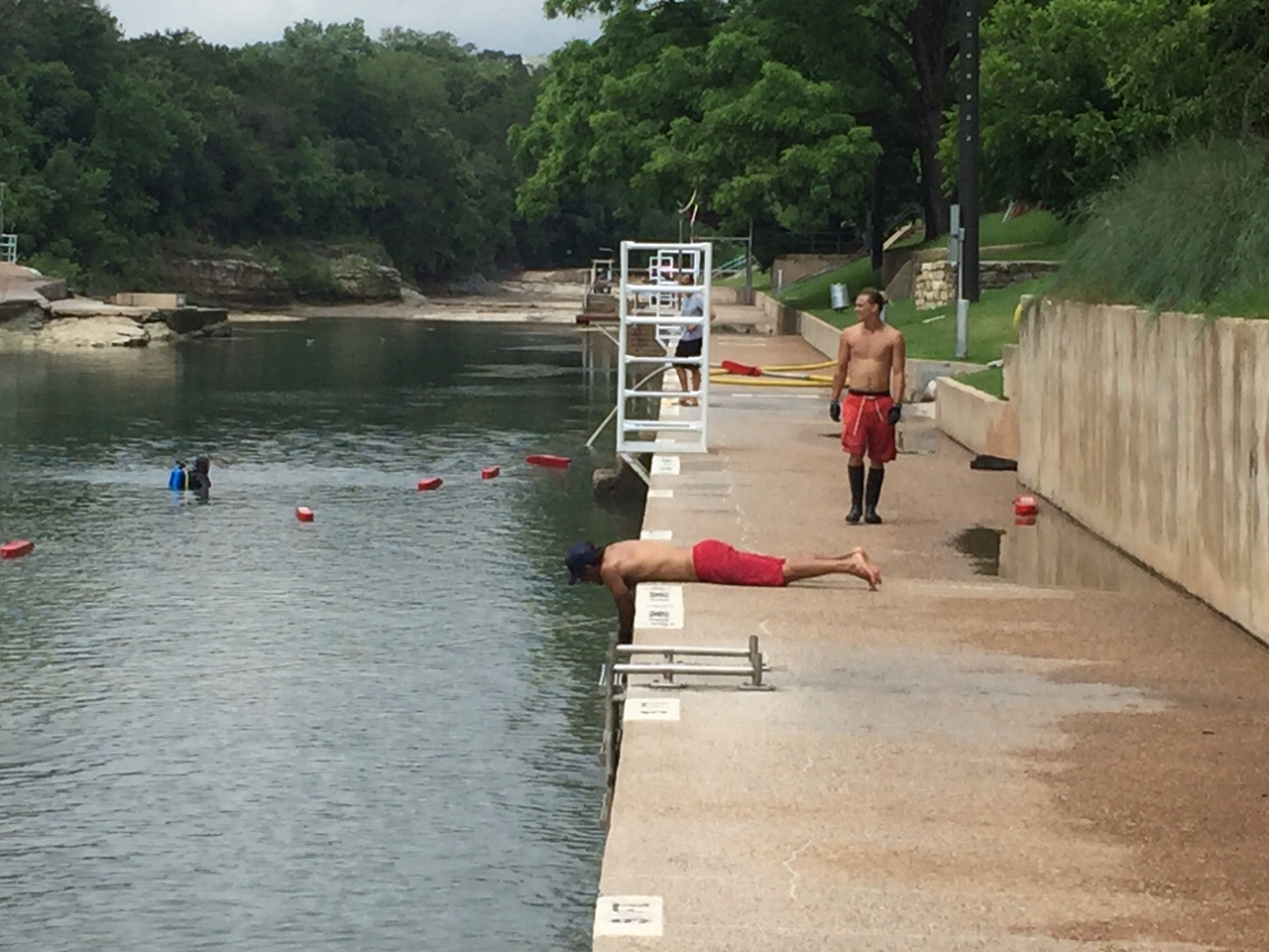 Barton Springs Pool_121395