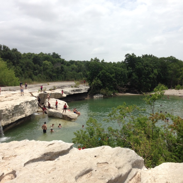 FILE - The lower falls at McKinney Falls State Park_494865